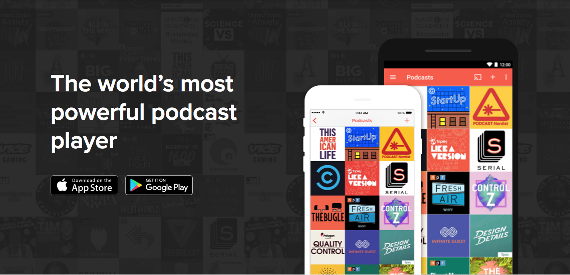 Our new Podcast series is now available on Pocket Casts